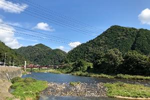 写真:安佐町の風景
